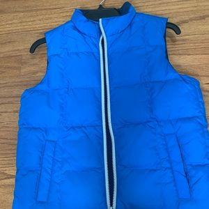 Hanna Anderson Reversible Blue Vest